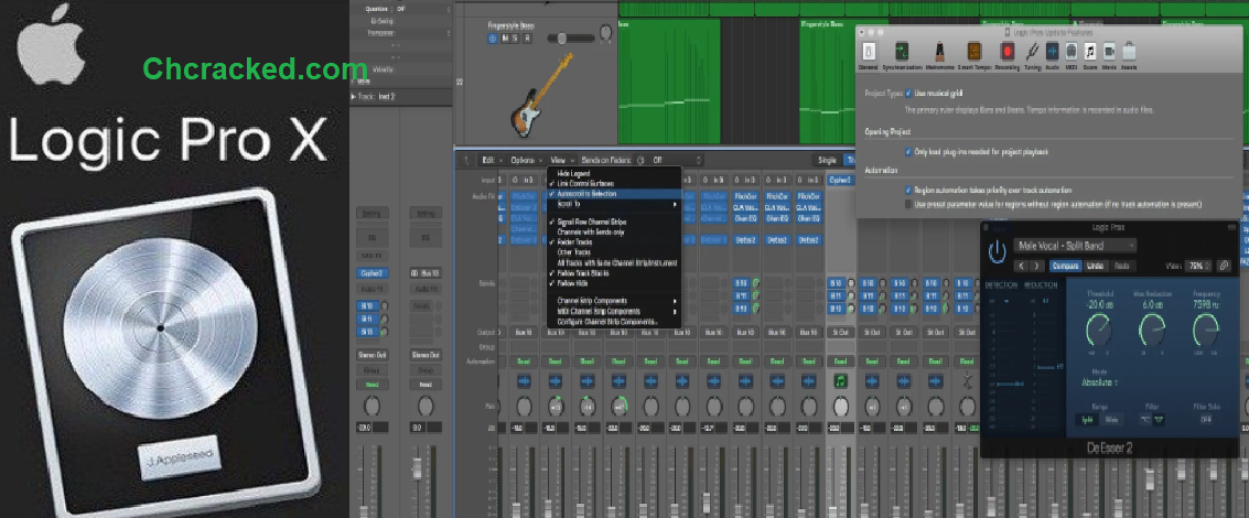 Logic Pro X 10.5.1 Full Crack For Mac + Windows 2020 Free Download
