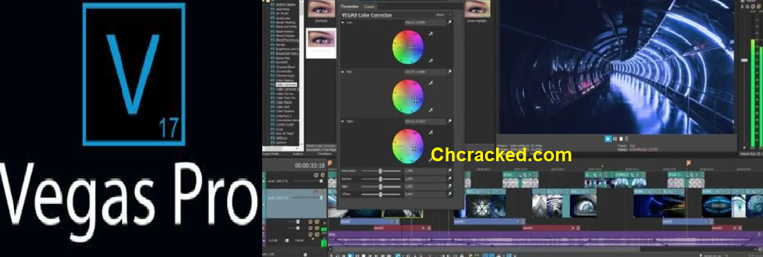 Sony Vegas Pro 17 + Crack With Serial Number Download 2020