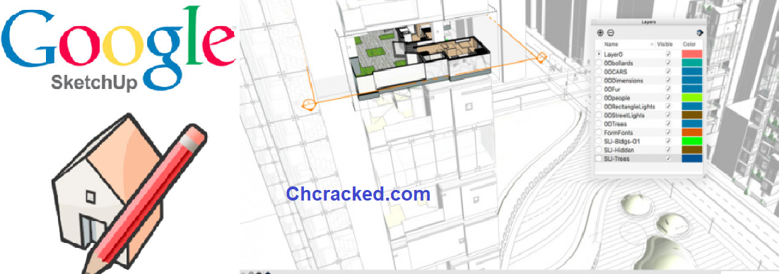 Google SketchUp Pro 20.1.228.63 Crack + License Key Full [Mac/Win]