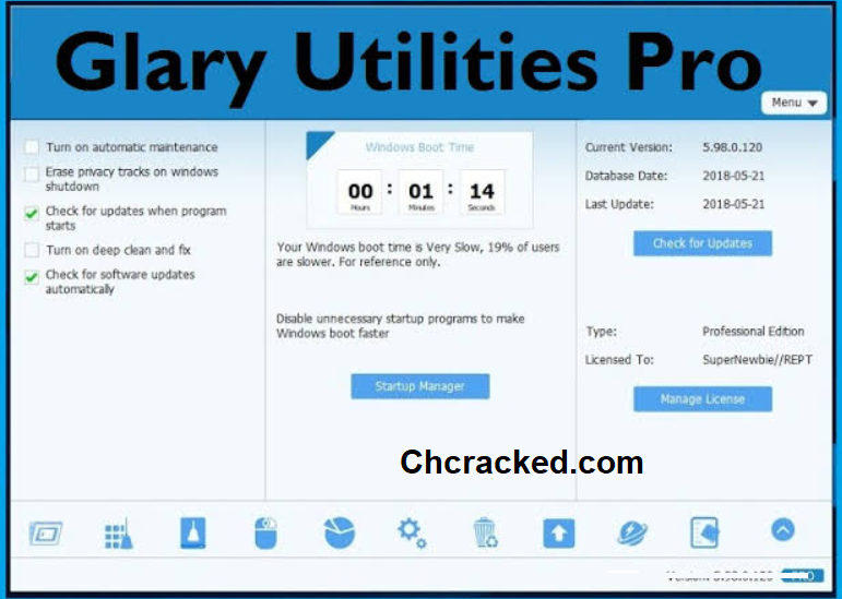 Glary Utilities Key